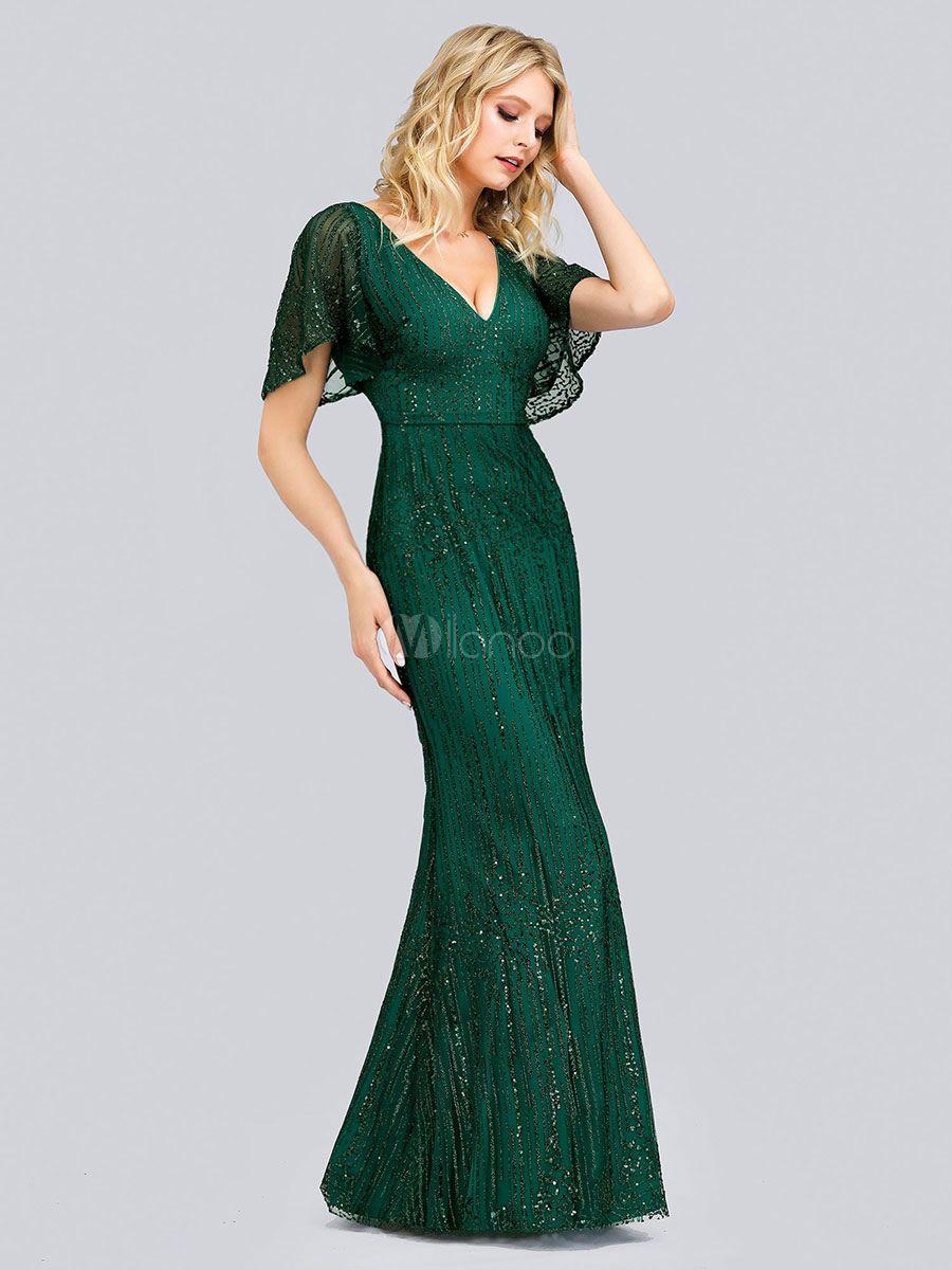 Party Dress For Mother Of The Bride 2020 V Neck Sleeveless Sheath Lace Wedding Guest Dresses Sponsor Ballkleider Mit Armeln Abendkleid Meerjungfrau Abendkleid