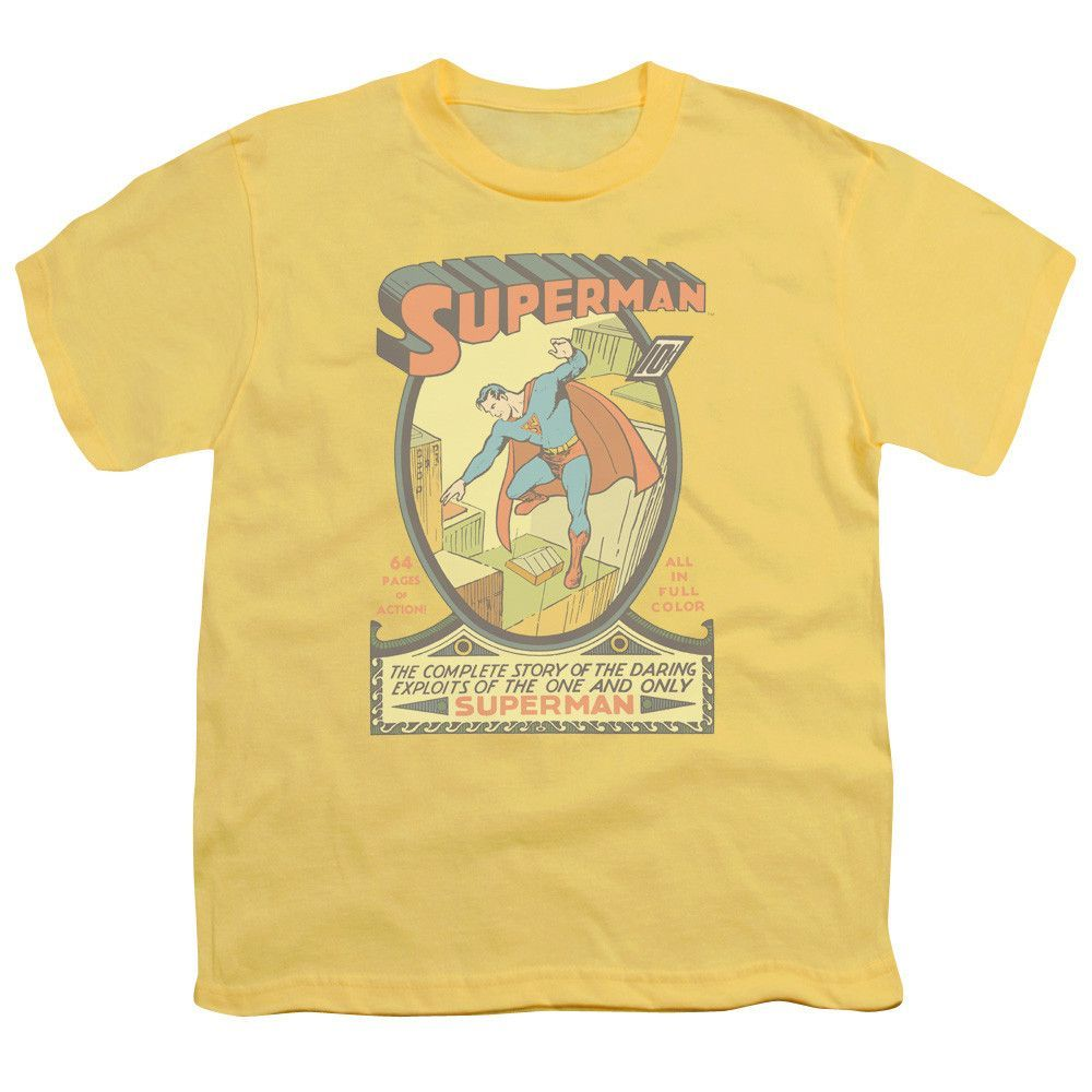 SUPERMAN/#1 - S/S YOUTH 18/1 - BANANA -
