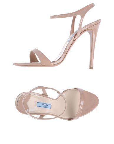 Prada Women - Footwear - High-heeled sandals Prada on YOOX
