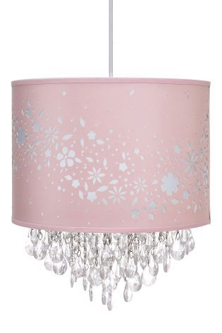 Buy Pink Floral Chadelier from the Next UK online shop | Lighting ...