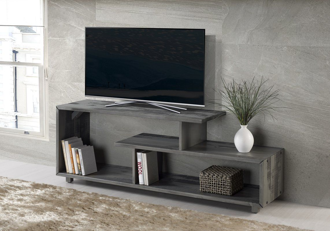 Carrasco Solid Wood Tv Stand For Tvs Up To 65 Solid Wood Tv Stand Living Room Tv Stand Modern Furniture Living Room