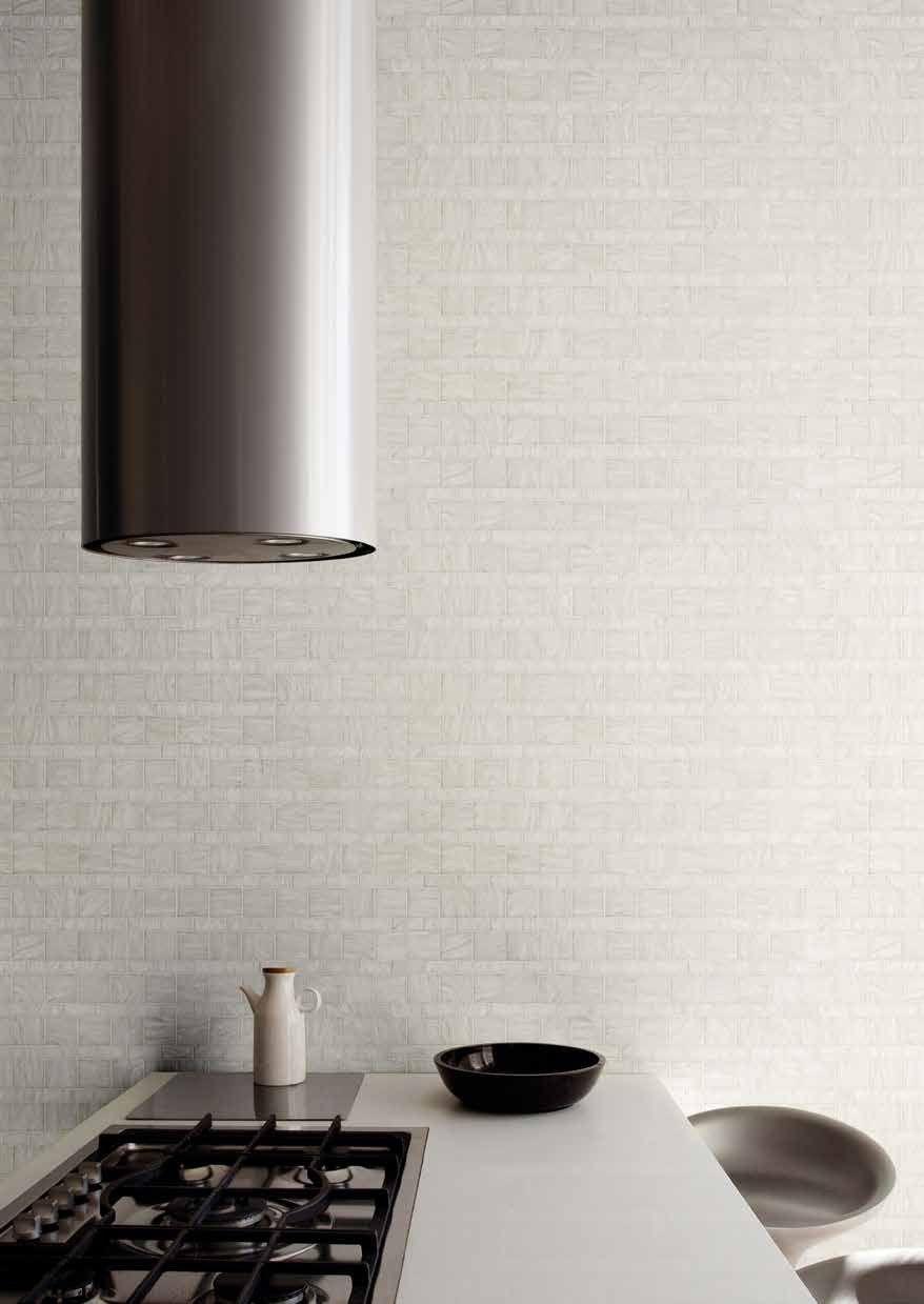 Bisazza #Variations 20x50 50x50 White Line   Feinsteinzeug   im ...