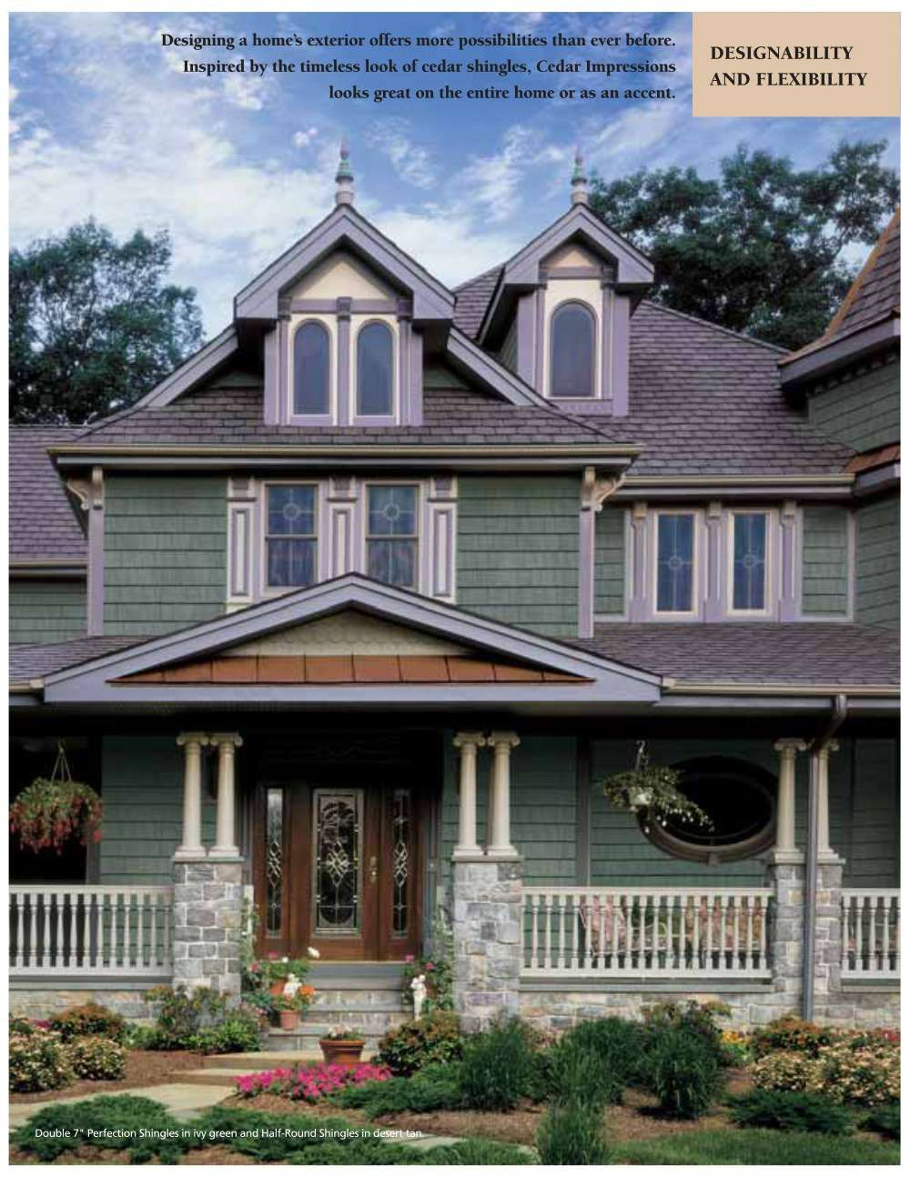 Wonderful Exterior Design With Certainteed Siding For Home Ideas Beautiful Exterior Design With Cedar Certainteed House Exterior Exterior Design House Colors