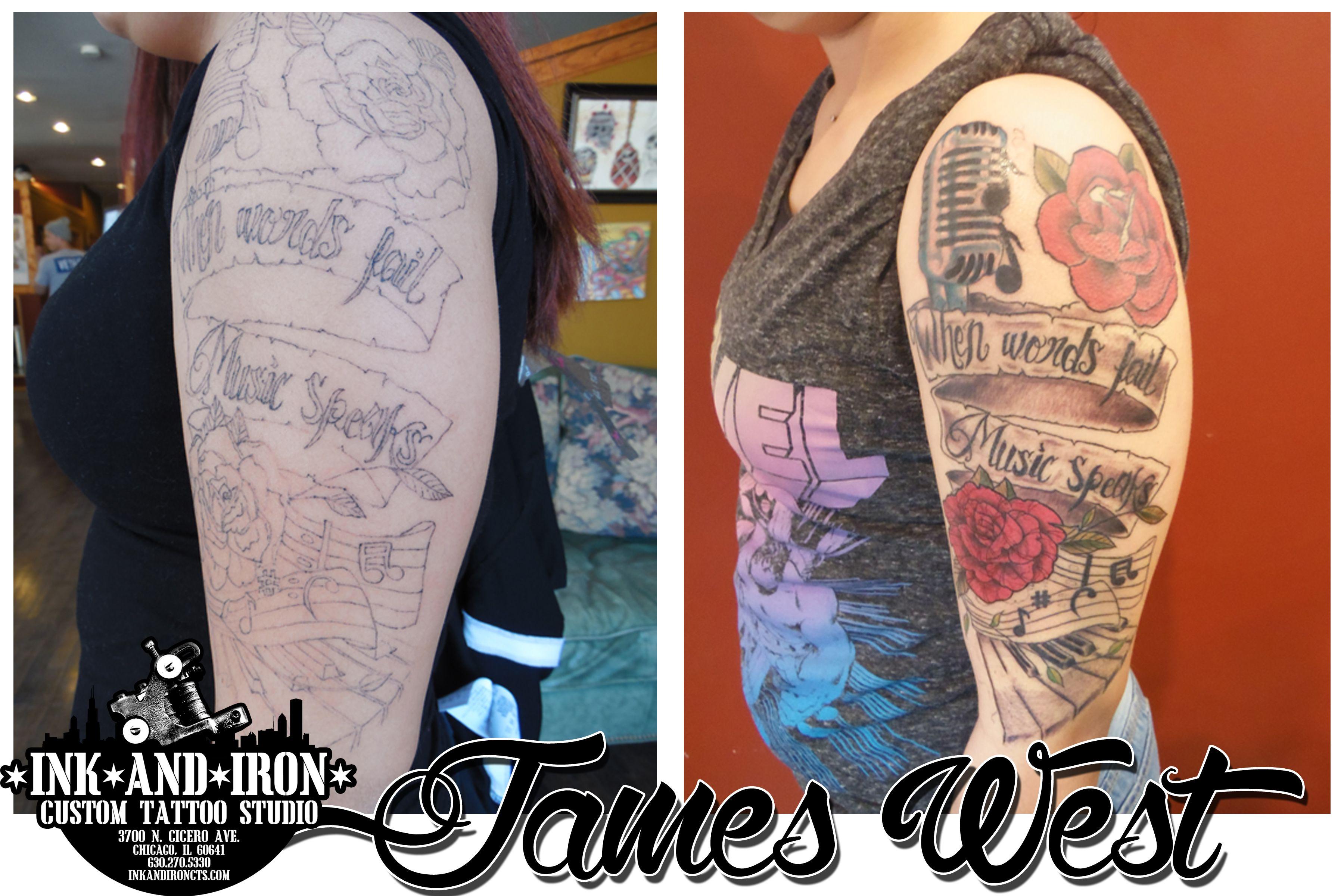 Ink and iron custom tattoo studio tattoo studio custom
