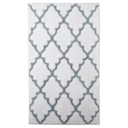 I Think I Want A Gray And White Bath Mat This Is Supposedly From