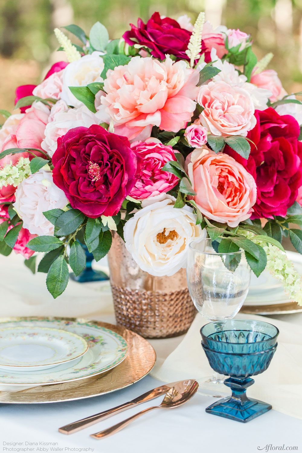 Silk Flowers Make Gorgeous Long Lasting Wedding Centerpieces Find