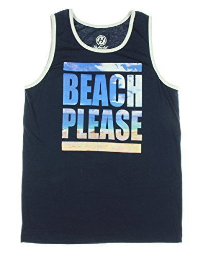 Beach Please Graphic Tank Top