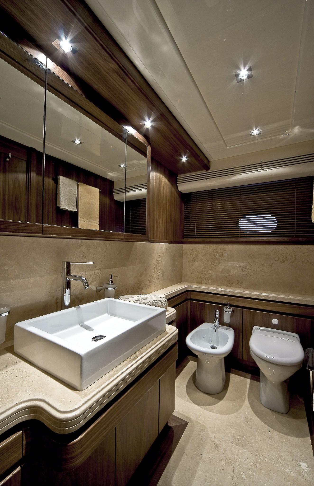 Internal View Custom Line Cl 97 Yacht Luxury Ferretti