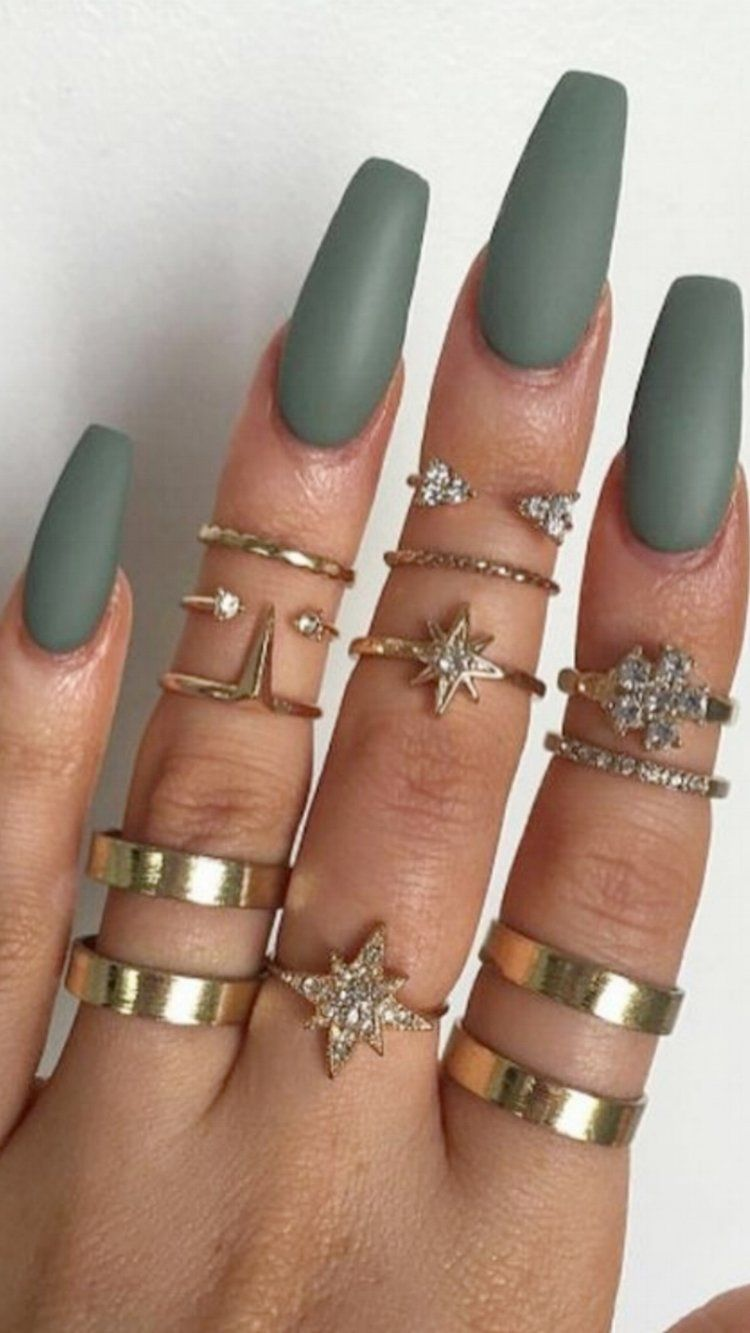 💅 101 Trending Nail Art Ideas | Coffin nails, Color nails and Nail ...