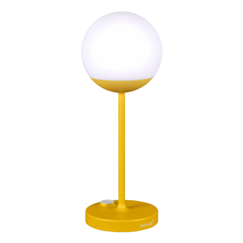 Bellhop Lamp Indian Yellow Laddningsbar bordslampa | Flos