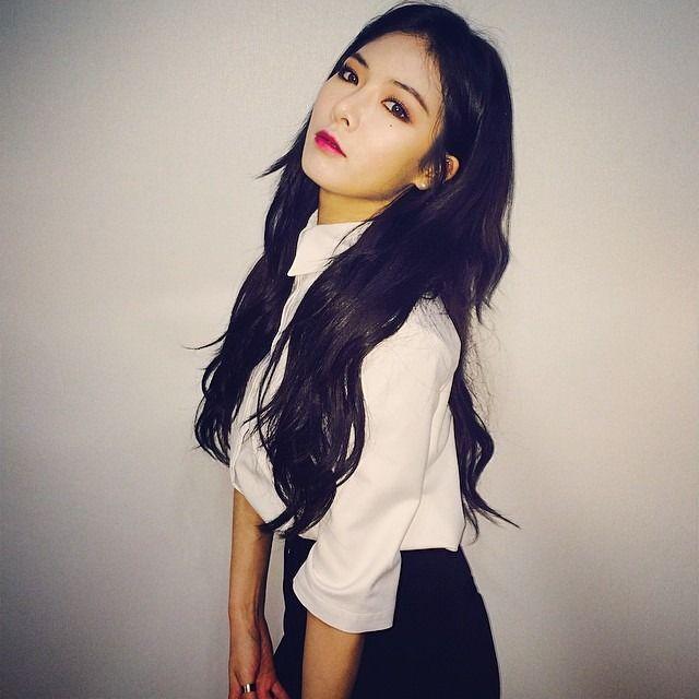 Idols Generation Edgy Hair Long Black Hair Beauty