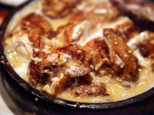 Шкмерули (курица в молочно-чесночном соусе) — vkusno.co