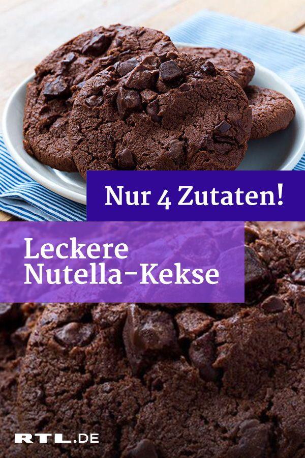 Nutella-Kekse mit nur 4 Zutaten