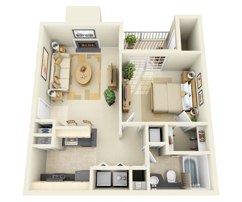 Pin By Sadmiajong On Limbe Resort 1 Bedroom Apartment Apartment Floor Plans Apartment