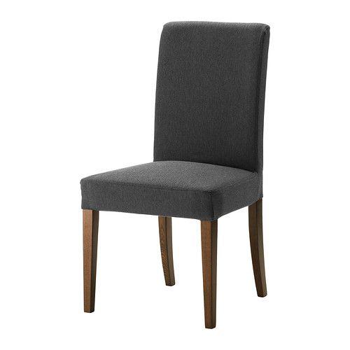 HENRIKSDAL Krzesło - Dansbo ciemnoszary, - - IKEA   NOWE   Pinterest ...