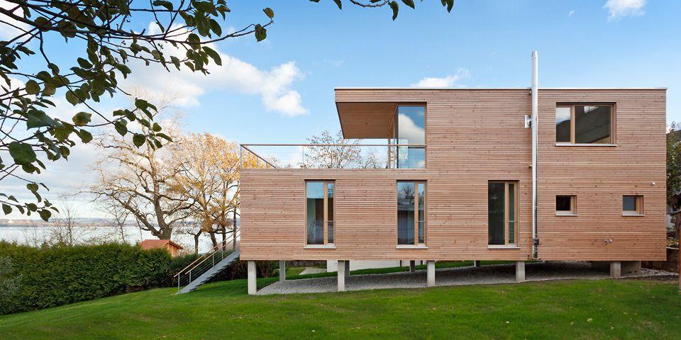 Aussenaufnahme | Haus Auf Stelzen / Bauen Am Steilhang | Pinterest | Haus  Auf Stelzen, Stelzen Und Häuschen