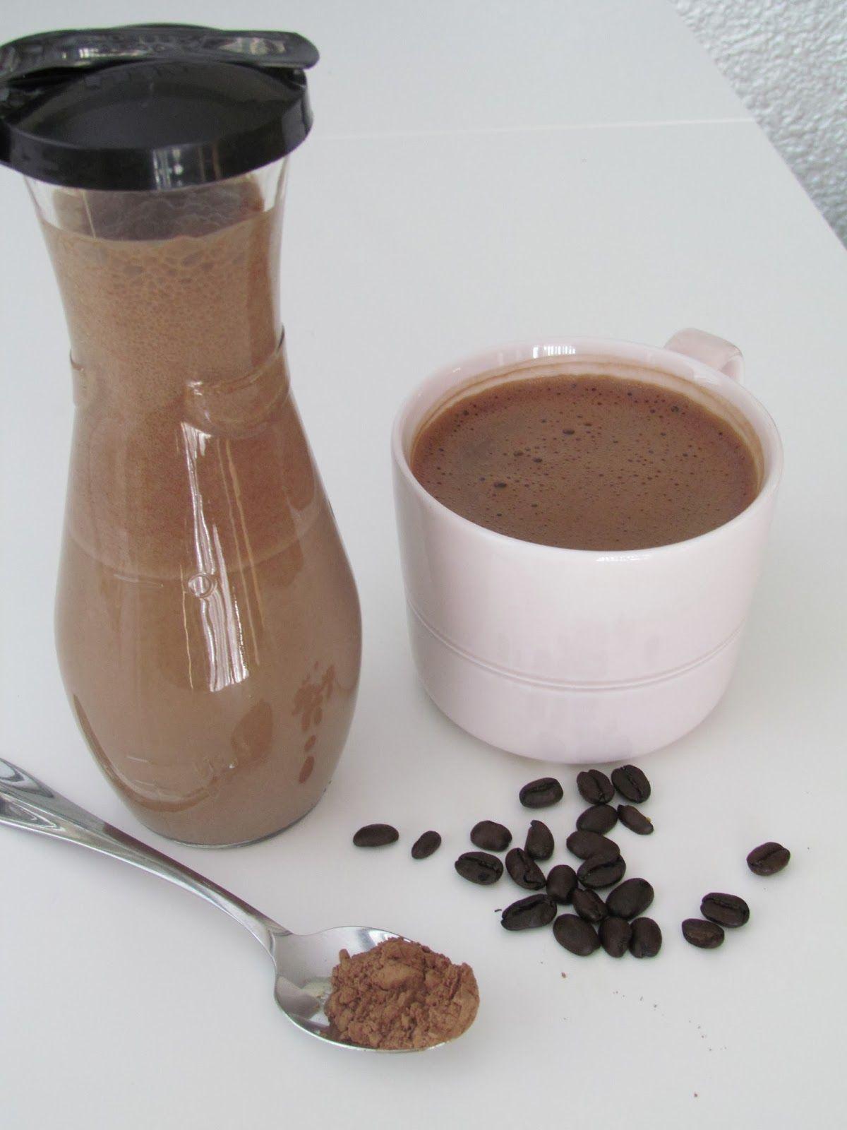 Chocolatecoconut clean healthy coffee creamer healthy