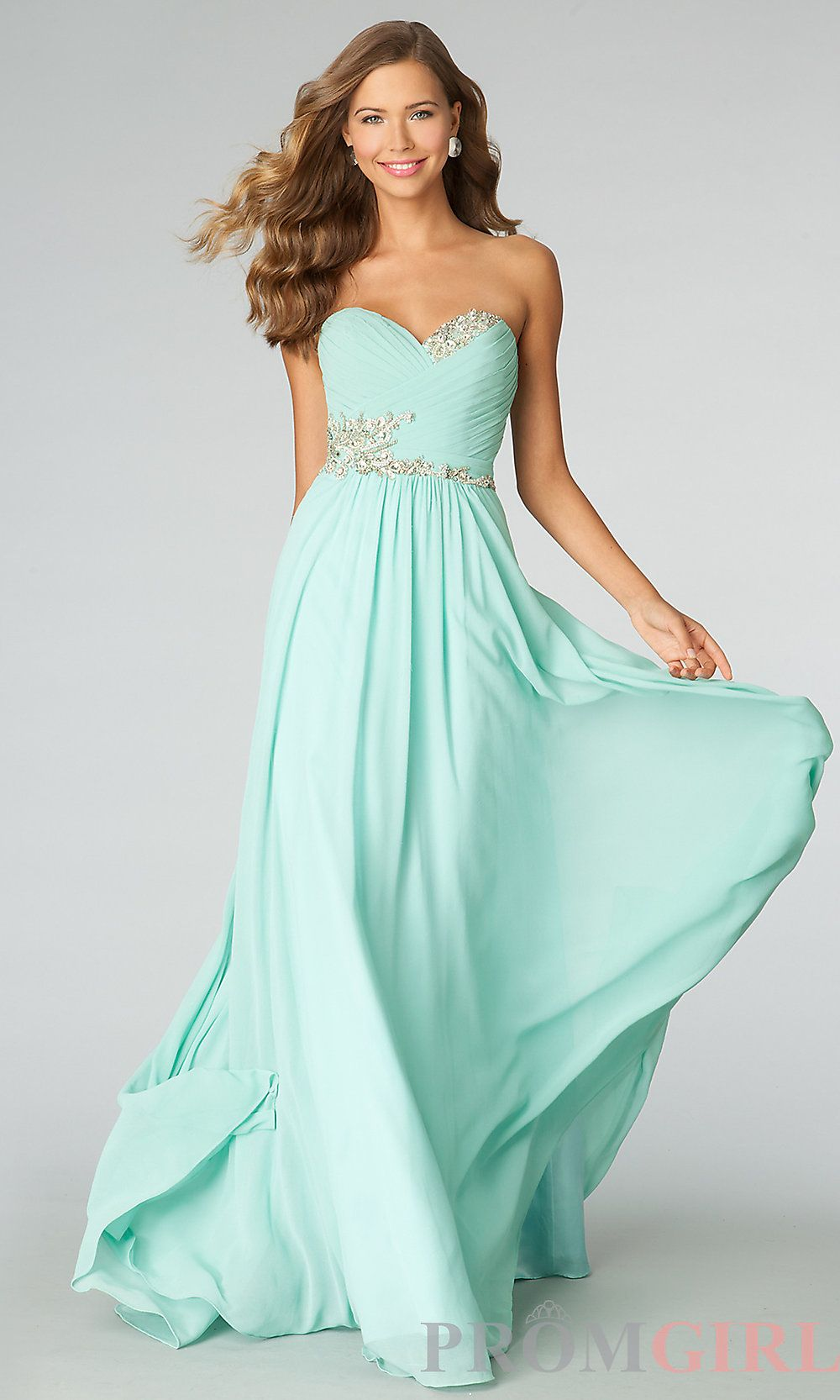 Long Strapless Gowns for Prom, JVN by Jovani Dresses- PromGirl ...