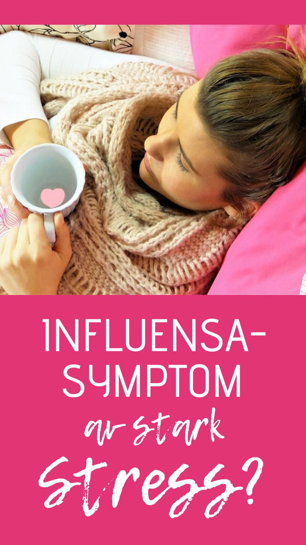 stress symptom feber