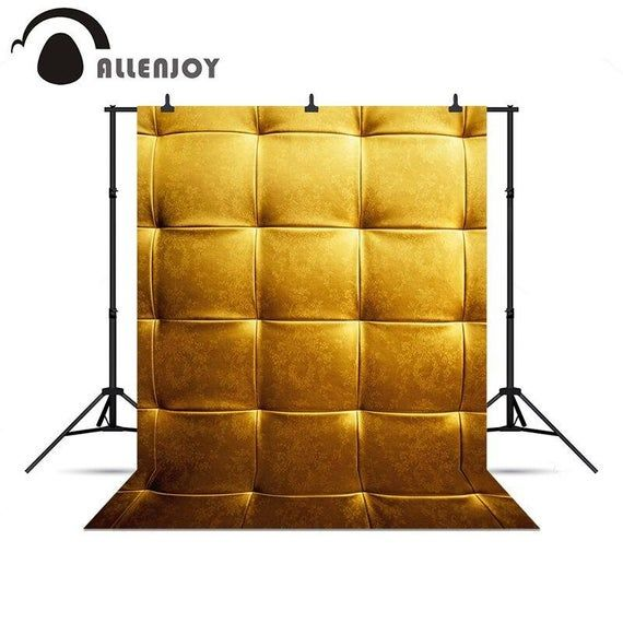 Photo of Custom Personalized background for photo shoots Golden royal flower headboard bed chinese style back