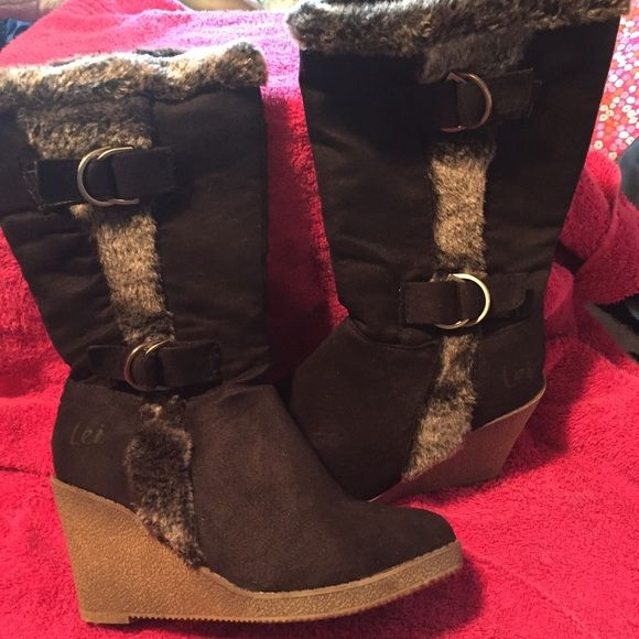 16cc3d4671bb Lei boots Lei boots great condition size 6 lei Shoes