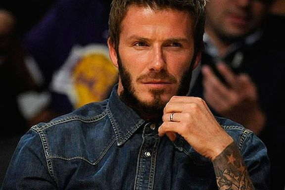 David Beckham S Platinum Wedding Ring Celebrity Mens