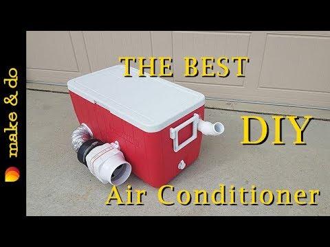 (10) Homemade Portable Air Conditioner DIY Version 2