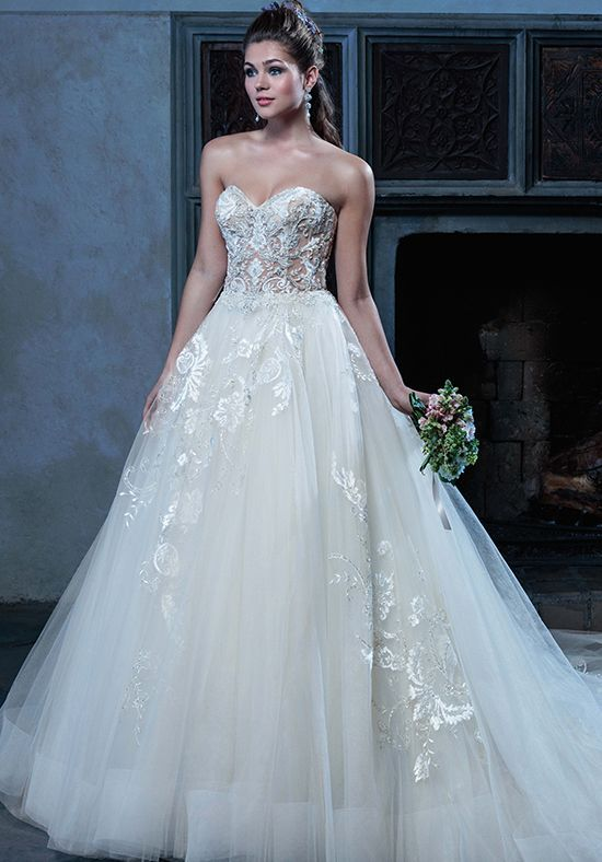 Amaré Couture by Crystal Richard Angelique Ball Gown Wedding Dress ...