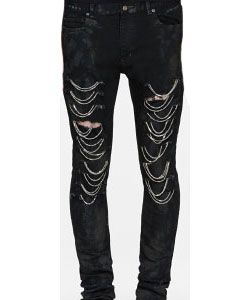These chain jeans are wild!