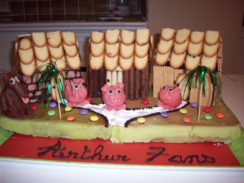 les 3 petits cochons - page 3 | gateau | pinterest | petits