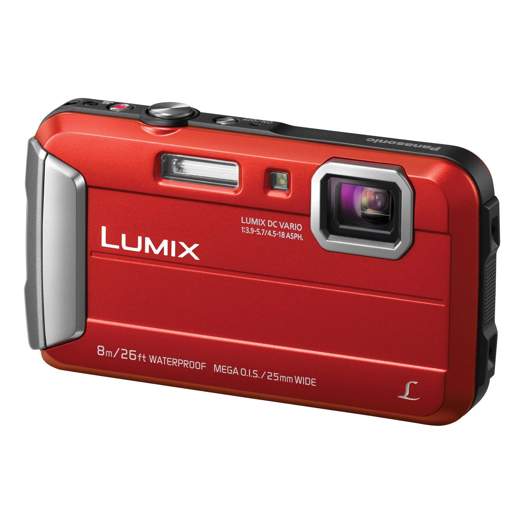 Panasonic Lumix Dmc Ts30 Digital Camera Red Dmcts30r Best Digital Camera Compact Digital Camera Waterproof Digital Camera