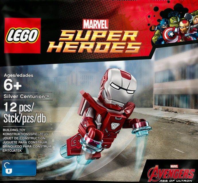 Lego 5002946 Silver Centurion Iron Man Super Heroes Marvel | LEGO ...