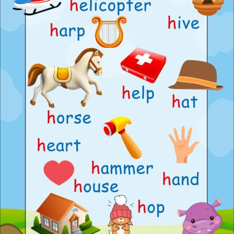 5 letter words beginning with ad h phonics poster help children to read phonics 16466