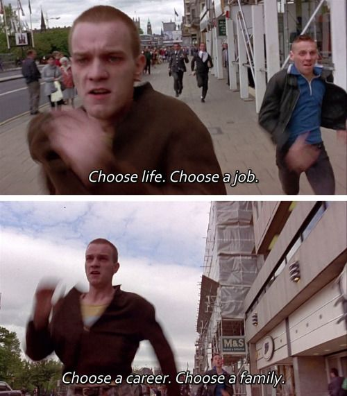 Pin By Lily Tsai On Fiml Trainspotting Movie Lines Movie Dialogues