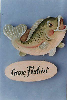 """""""Gone Fishin'"""" Pattern Packet by DeLane Lange~OOP"""