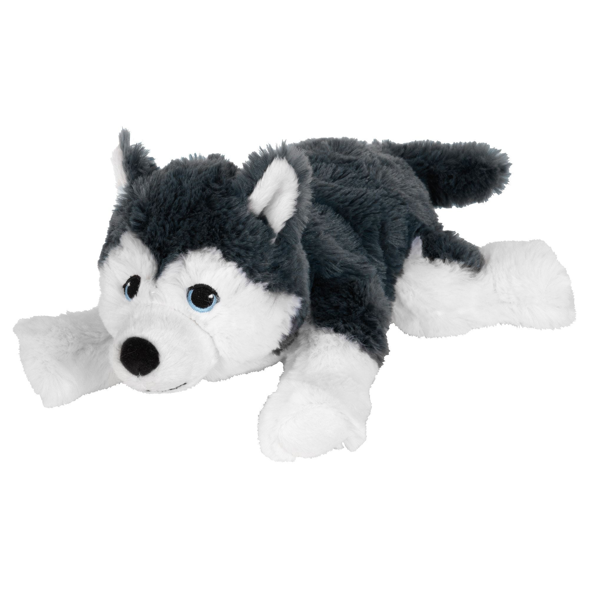 Ikea Livlig Dog Siberian Husky Soft Toy In 2020 Dog Toys Toy