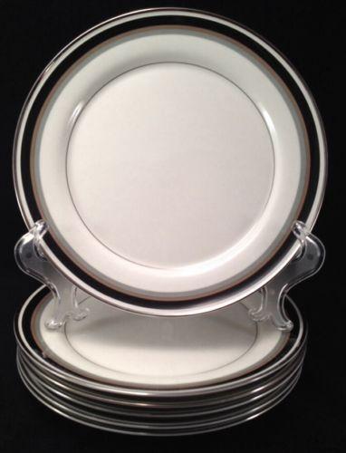 MIKASA Noir A4102 6 Dinner Plates