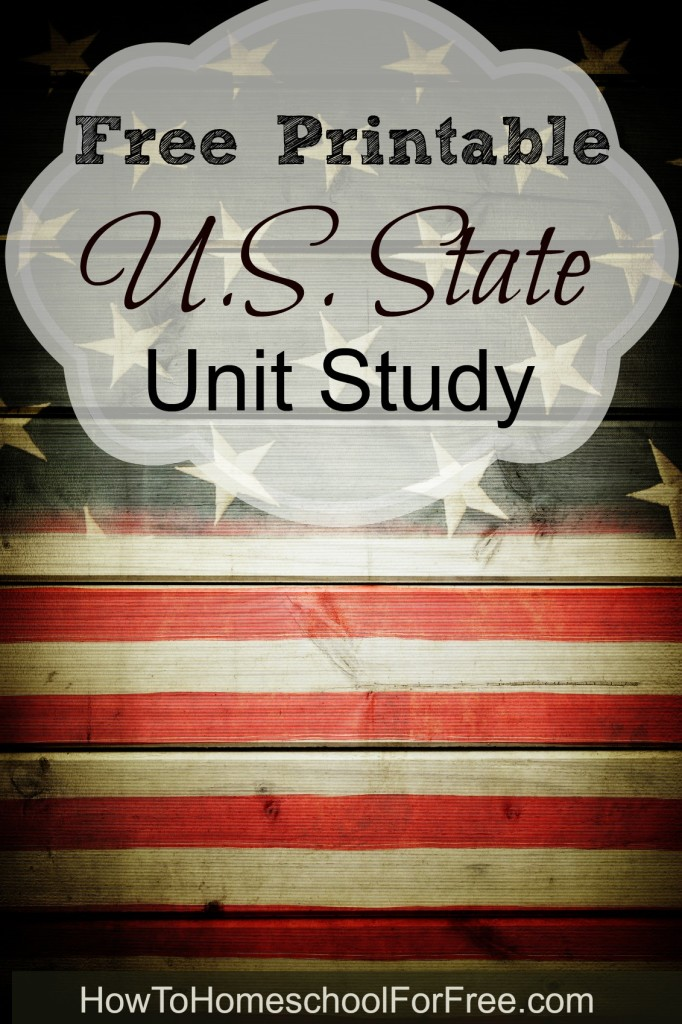 Photo of Free Printable U.S. State Unit Study
