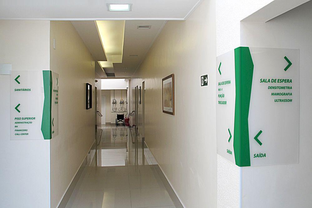 Jundimagem Diagnóstico por Imagem . EQPA Wayfinding Design