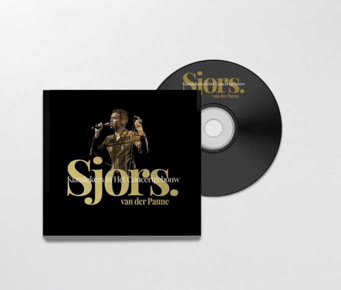 CD Cover Sjors van der Panne