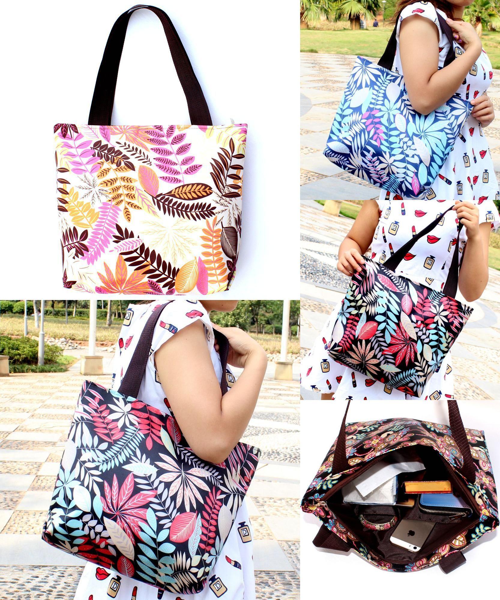 9489d321bb  Visit to Buy  Leisure Printing Handbags Women  s Handbags Shoulder Simple Bags  Printed