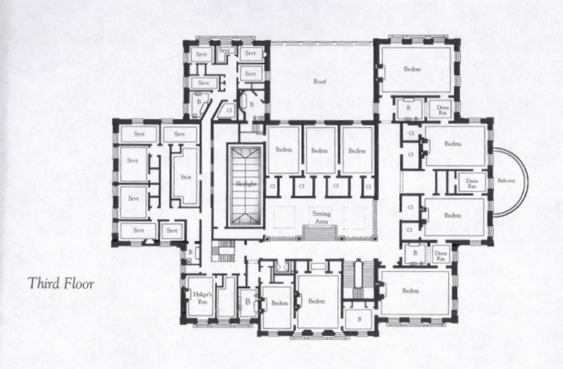 Floorplans For Gilded Age Mansions.   SkyscraperPage Forum · House  BlueprintsHouse LayoutsBuilding PlansGilded ...