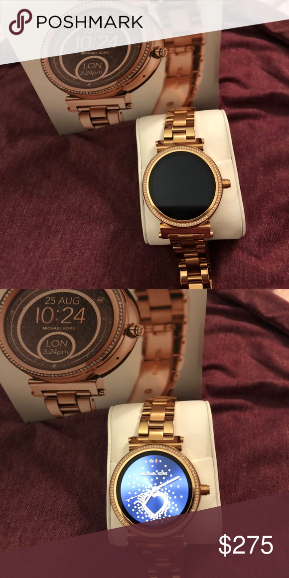 0dc9bc7eeb8b MK Access Smart watch Only worn a handful of times. Basically brand new.  Rose gold Michael Kors Accessories Watches