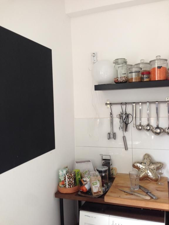 Einrichtungsdetails Küche Gewürzregal, Biolebensmittel