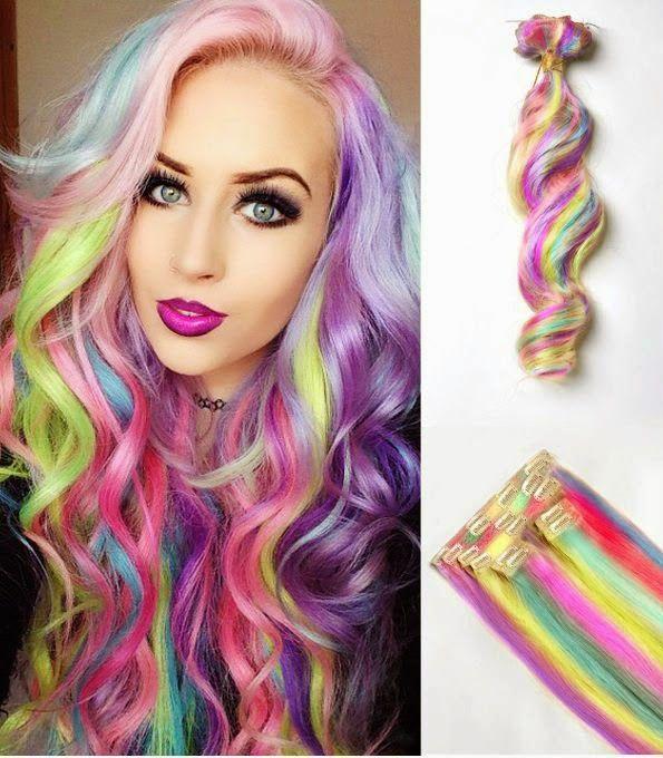 Dhermo Bela Mega Hair Cabelos Coloridos Make Up And Hair