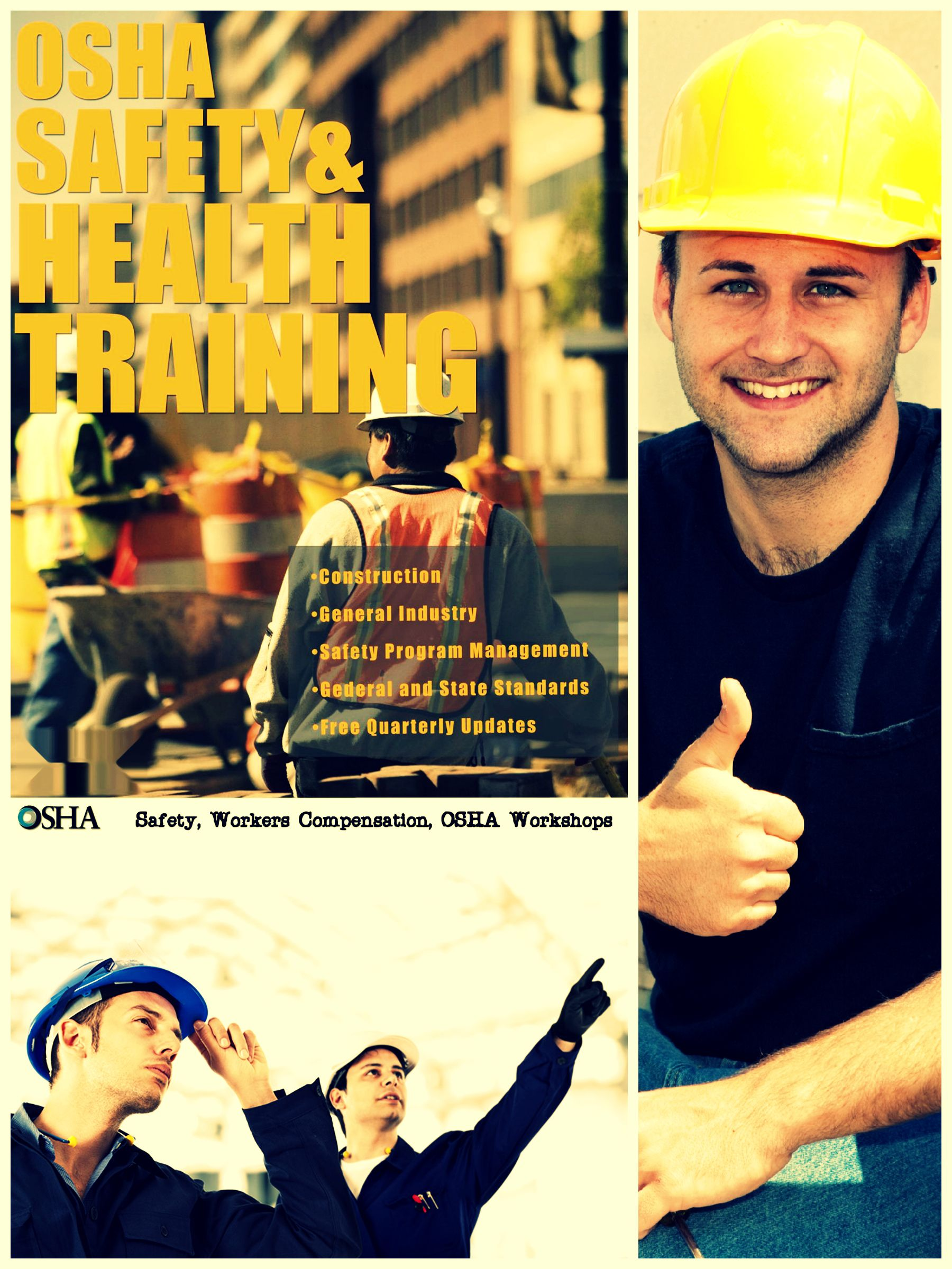 Safety, Workers Compensation, OSHA covers