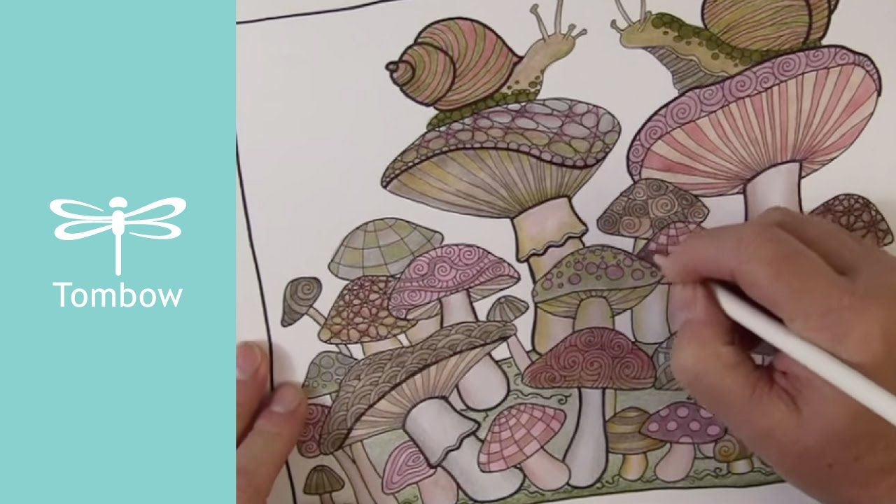 Coloring With Colored Pencils