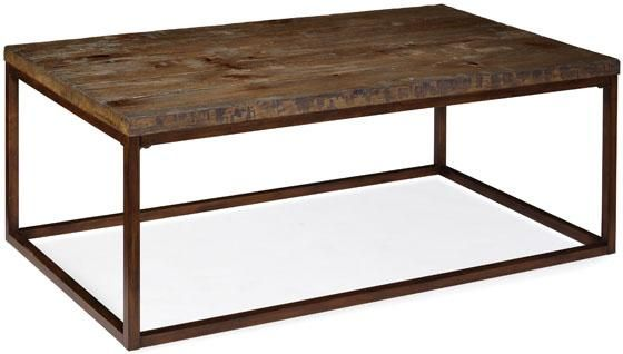 Brick Layers Coffee Table Coffee Tables Living Room Furniture Furniture Coffee Table Living Room Coffee Table Rustic Coffee Tables