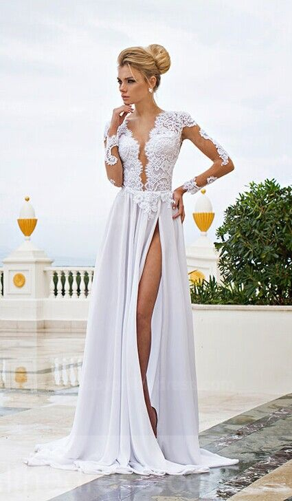 Sexy Wedding Dresses That Rocked the Runways | Sexy, Sexy wedding ...