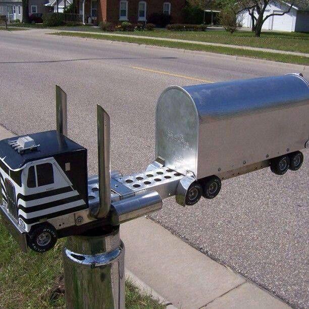 Custom Mailboxes, Automotive Decor, Cool Mailboxes